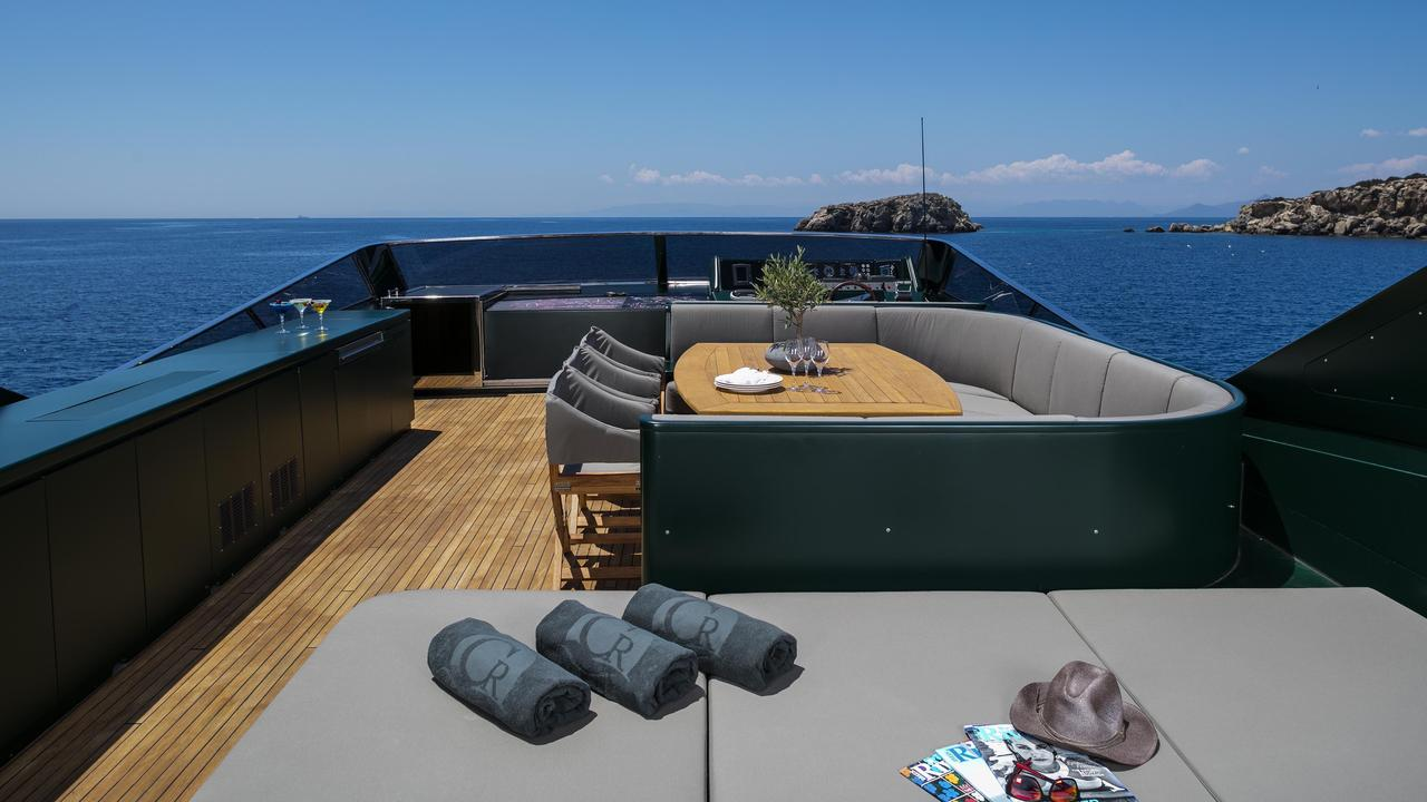 Can't Remember - Super Yacht charter - exterior