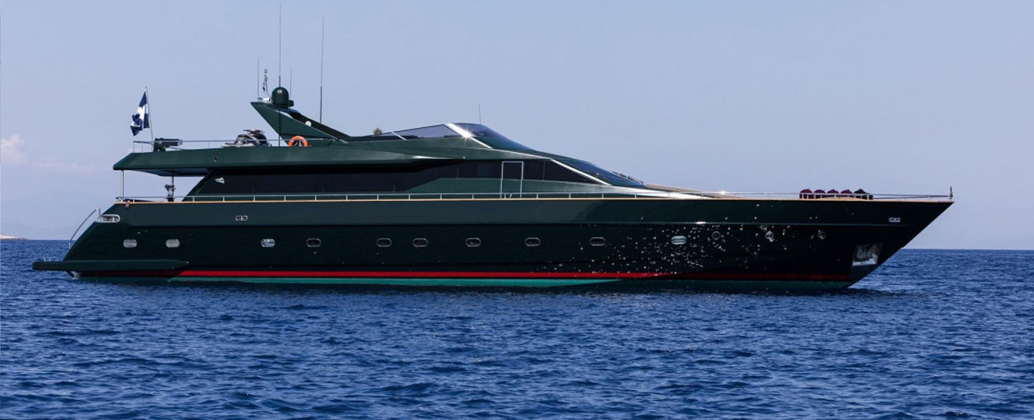 Can't remember - Luxury yacht charter