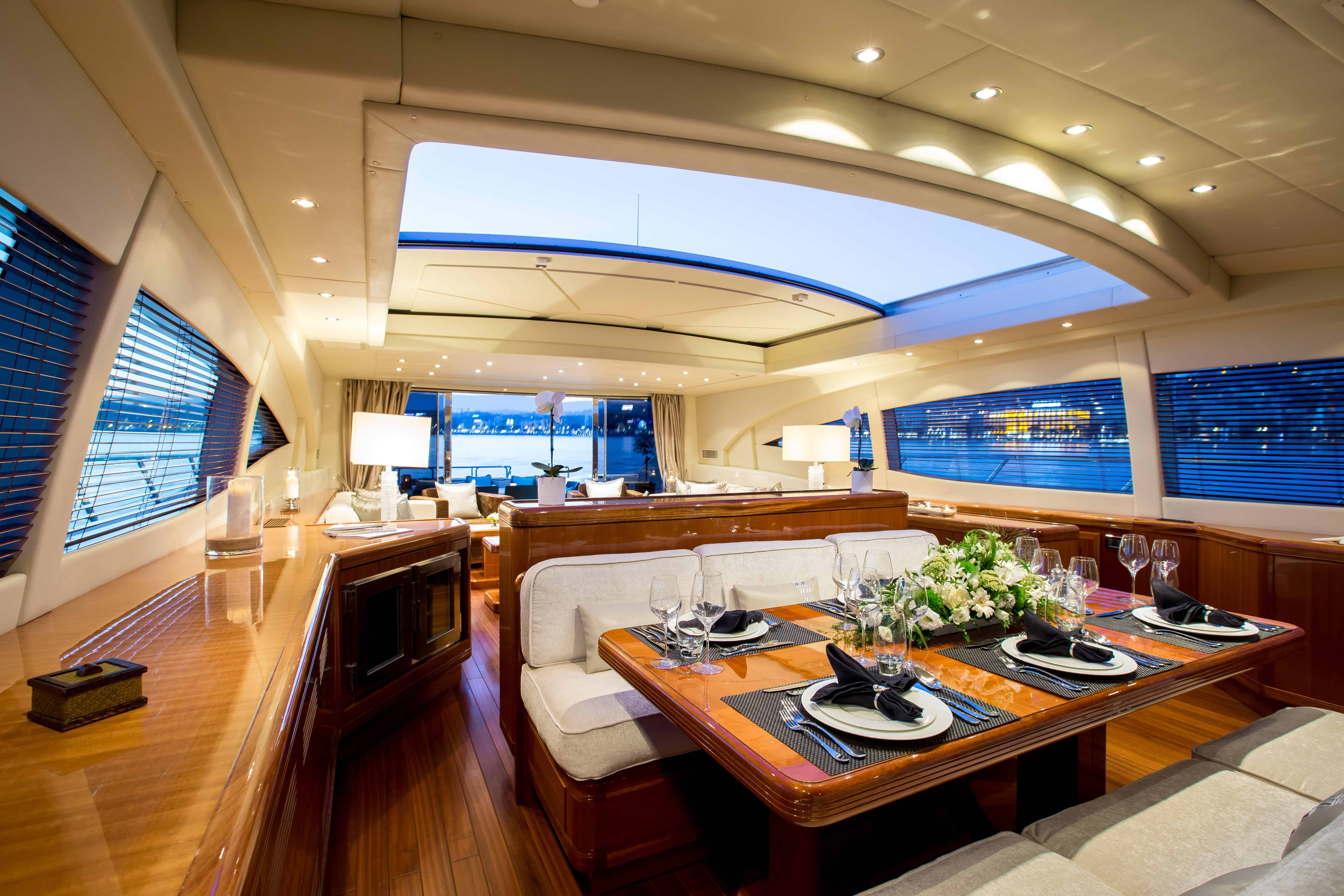 Hercules - Yacht for charter - dining
