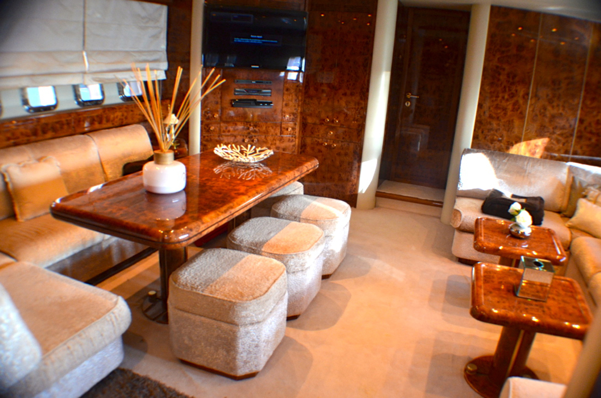 Of villa Romana - luxury yacht - interior