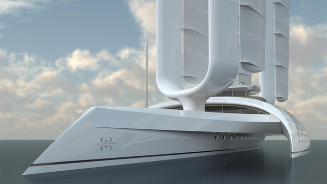 ambitious superyacht wind motion